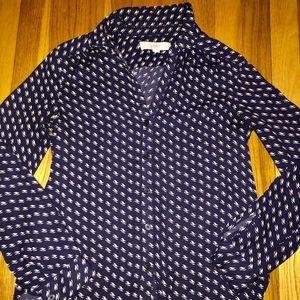 LOFT Button Down Collared Shirt